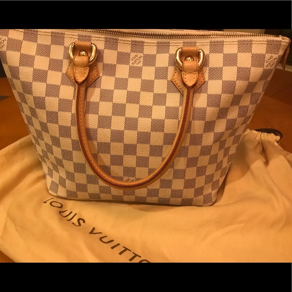9dd920f883e5 Louis Vuitton Handbags - Louis Vuitton Saleya PM Damier Azur